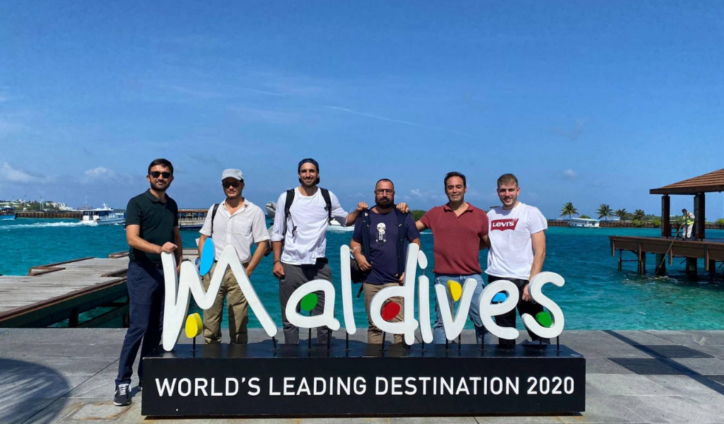 Team from leading Spanish magazines arrives in Maldives for Familiarization trip.
