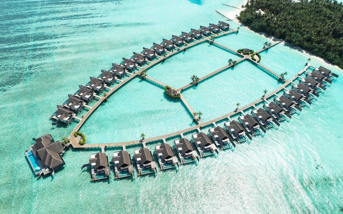 The Secluded Overwater Playground at Niyama