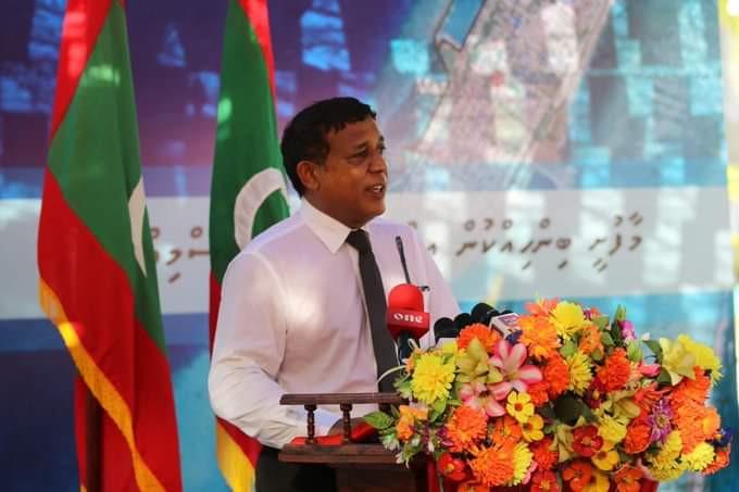 Land Reclamation in K. Maafushi