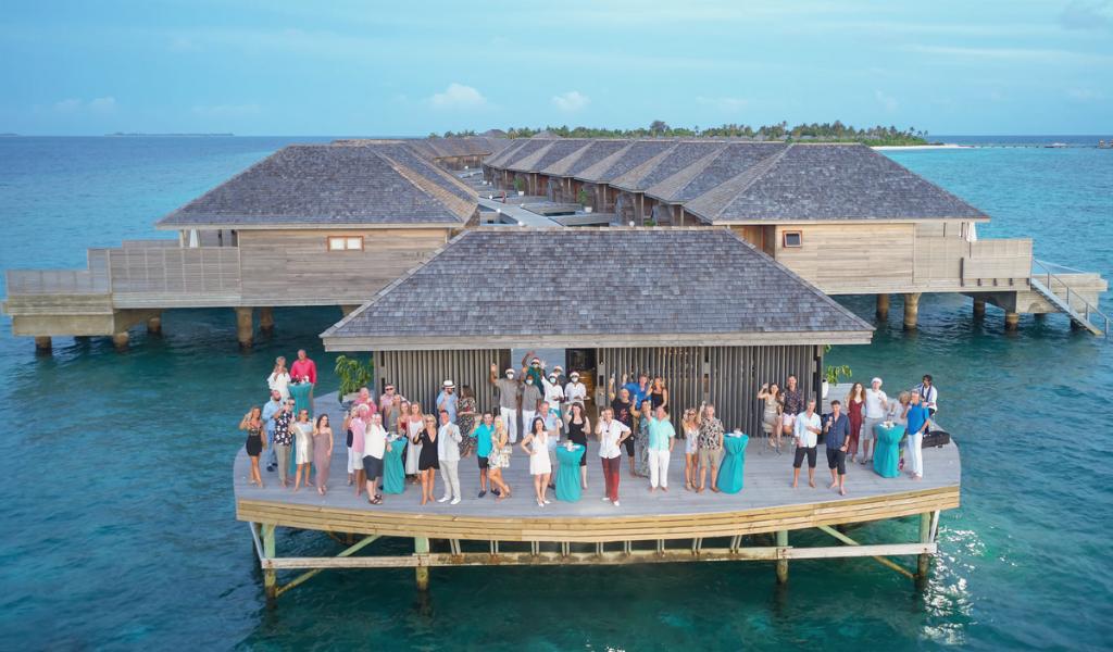 """""""Fully Vaccinated And Waiting For You!"""" – Hurawalhi Maldives"""