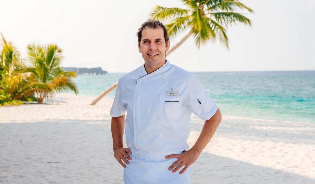 Seasoned Chef Pedro Samper Calls the Island Paradise of St. Regis Maldives His New Home