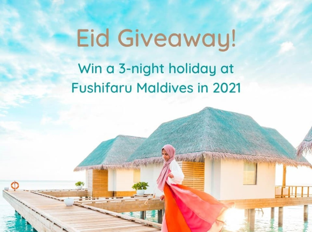 Fushifaru Maldives 3-Night Stay Giveaway!