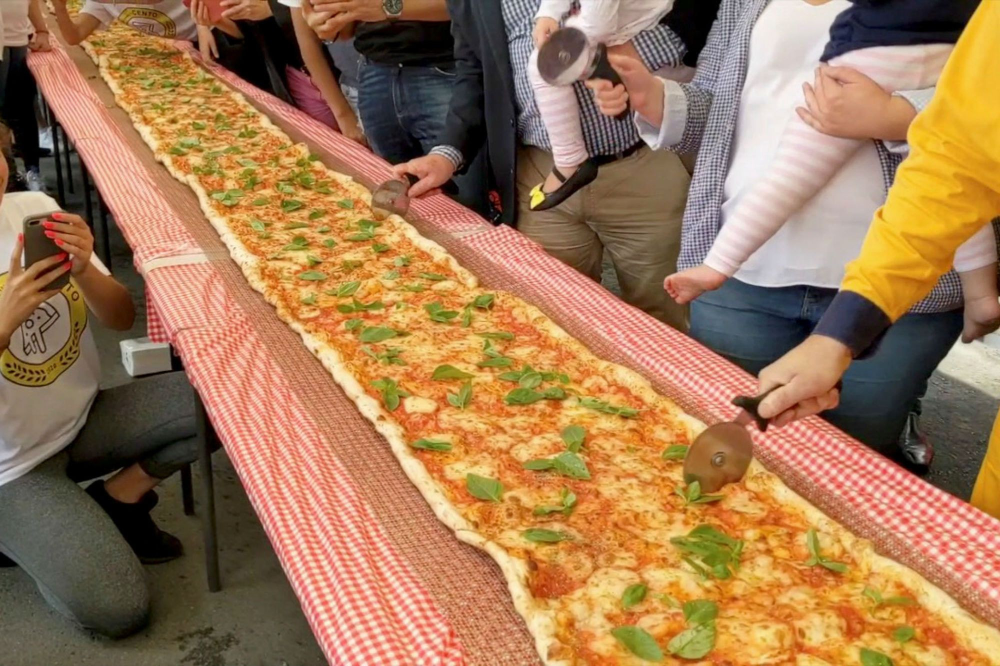 The 300ft Pizza That Helped Australia