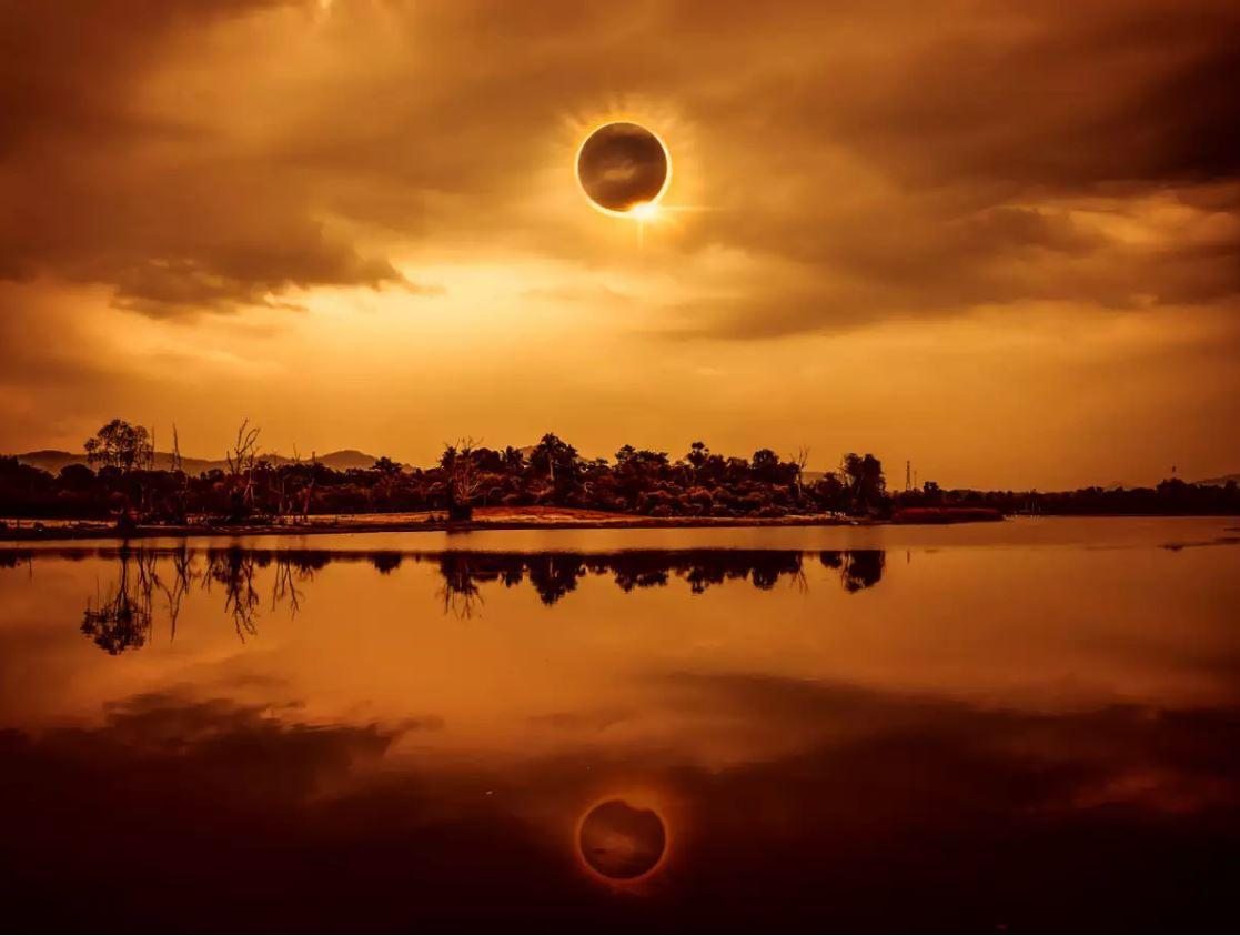 Rare 'Ring of Fire' Eclipse in Maldives
