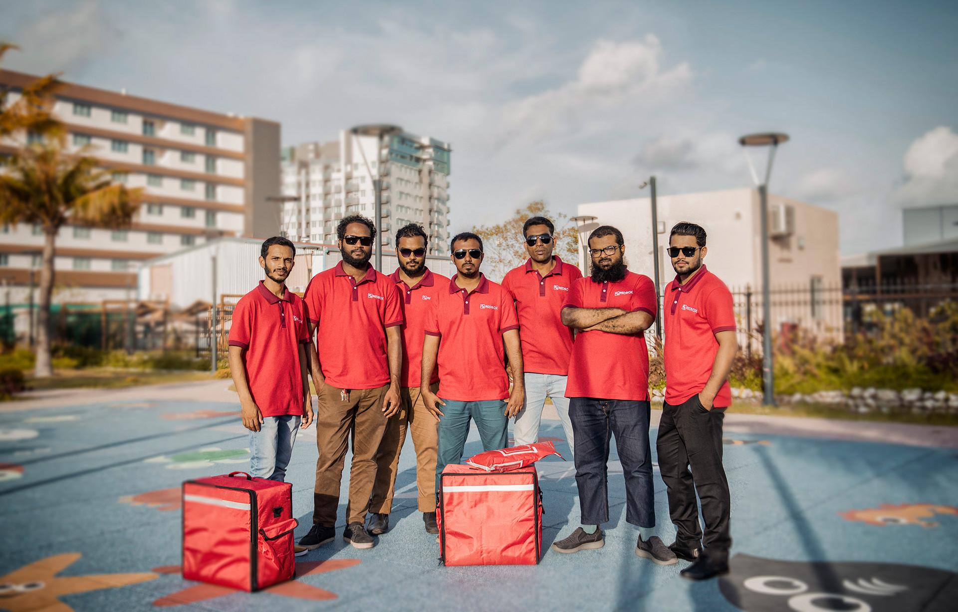 RedBox: First International Delivery Brand