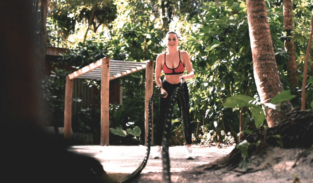 More Than A Holiday at Amilla – Give Your 100% Fitness at this Zero-Energy Jungle Gym