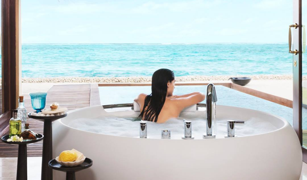 Spas are Everywhere, But Can You Find a Spa with a View Like This Anywhere Else?