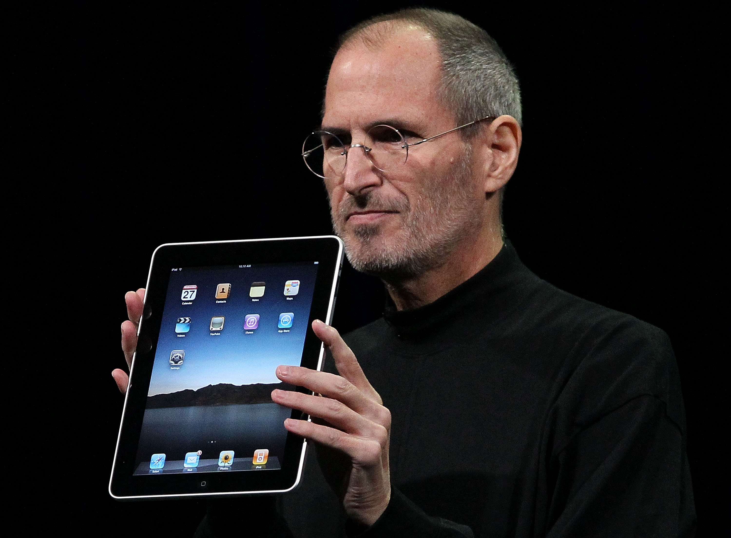 10th Anniversary of Steve Job Unveiling the IPad
