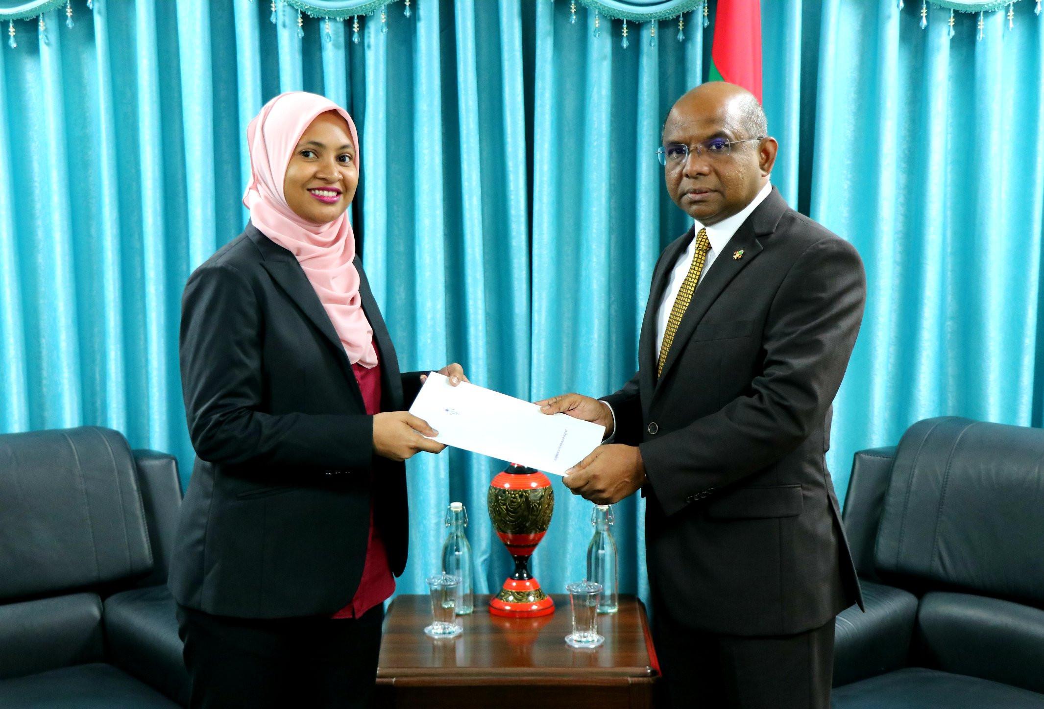 Maldives' First Consul General is a Female