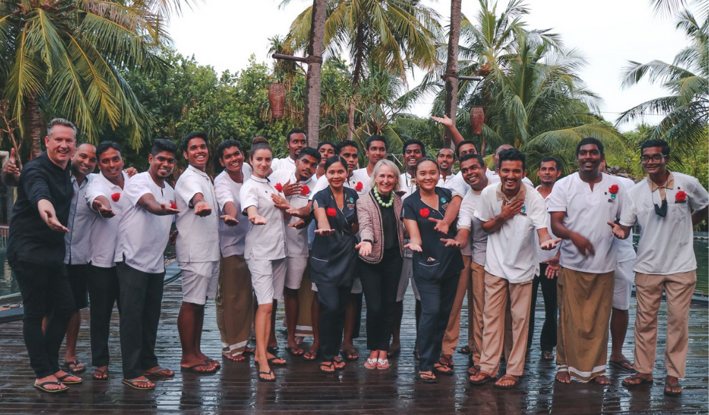 Sun Siyam Iru Fushi Hosts Grand Celebration for the Graduates of SABA 360 Butler Training