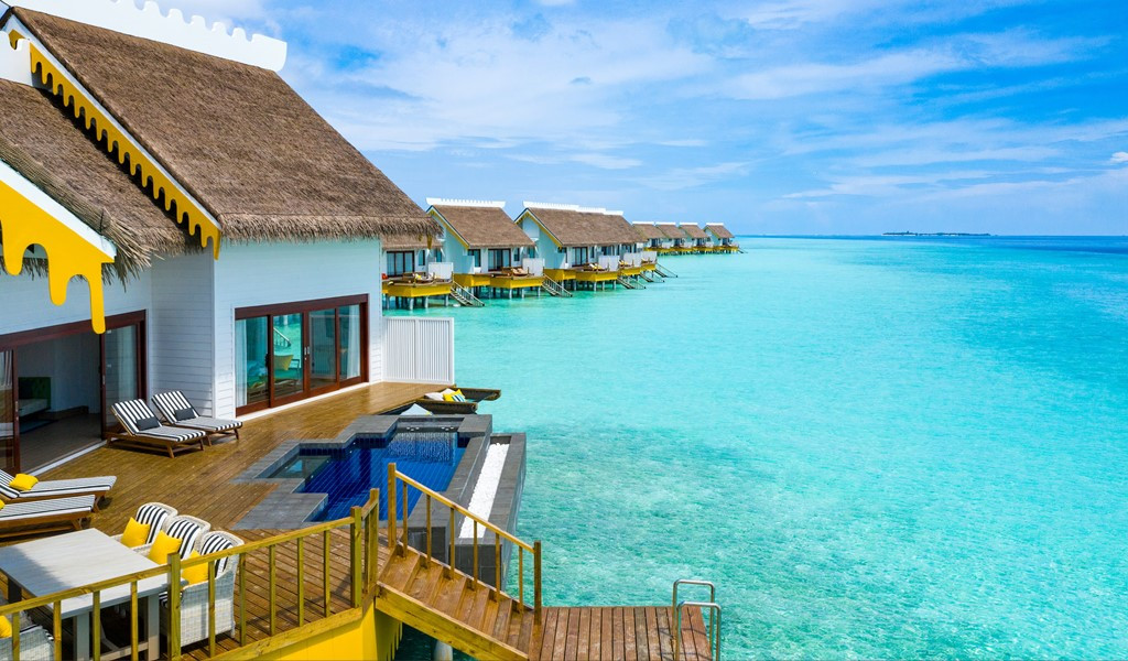 Make This Boho-Chic Overwater Villa Your Choice of Stay on Your SAiiscape!