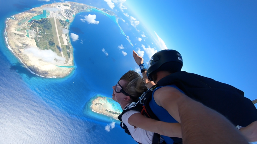Win 2 Free Skydives - Sky Dive Maldives