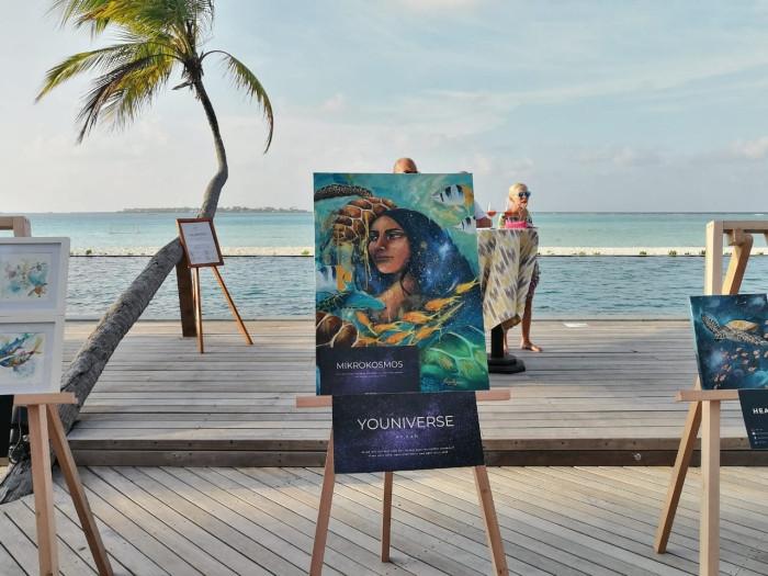 Ocean Eyes Exhibition at Angsana Velavaru