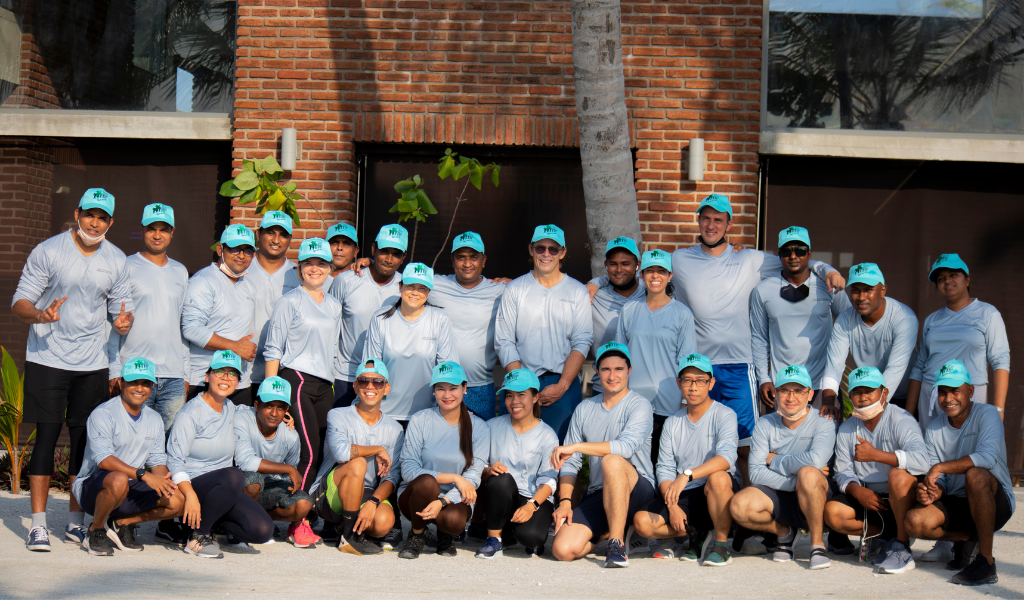 The Ritz-Carlton Maldives, Fari Islands Lit Up in Blue for World Autism Day 2021