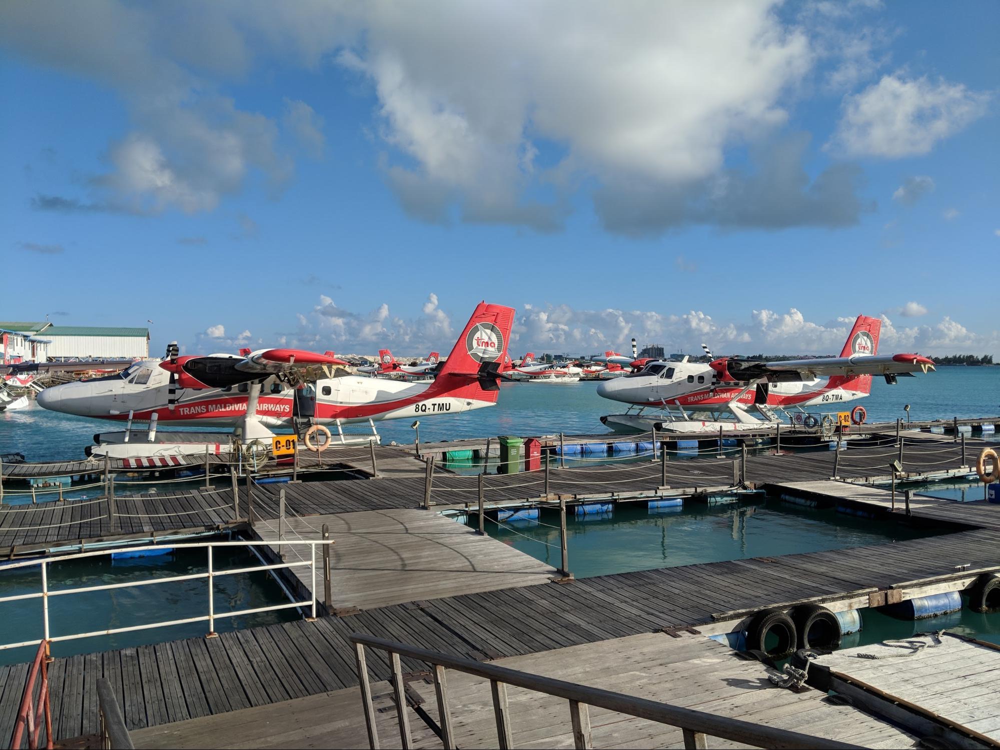 $40 Million Seaplane Terminal in Maldives