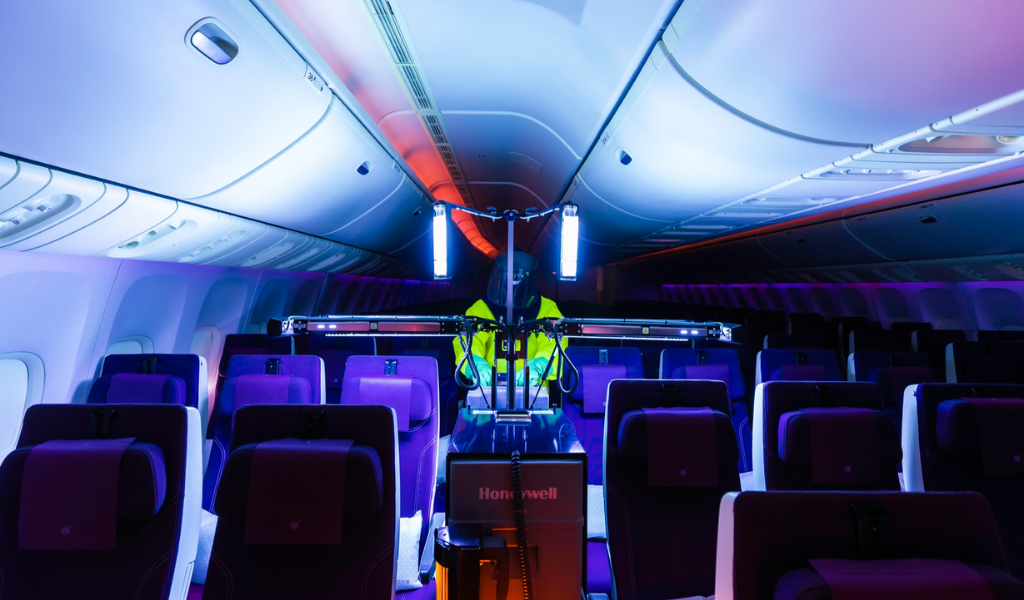 Qatar Airways Deploys Latest Version Of Honeywell's UV Cabin Disinfection Technology Onboard
