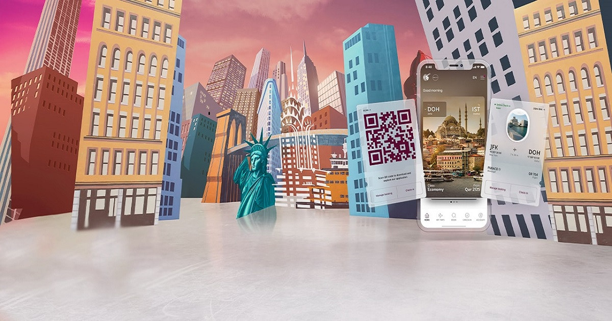 The Qatar Airways App – Your Contactless Travel Companion