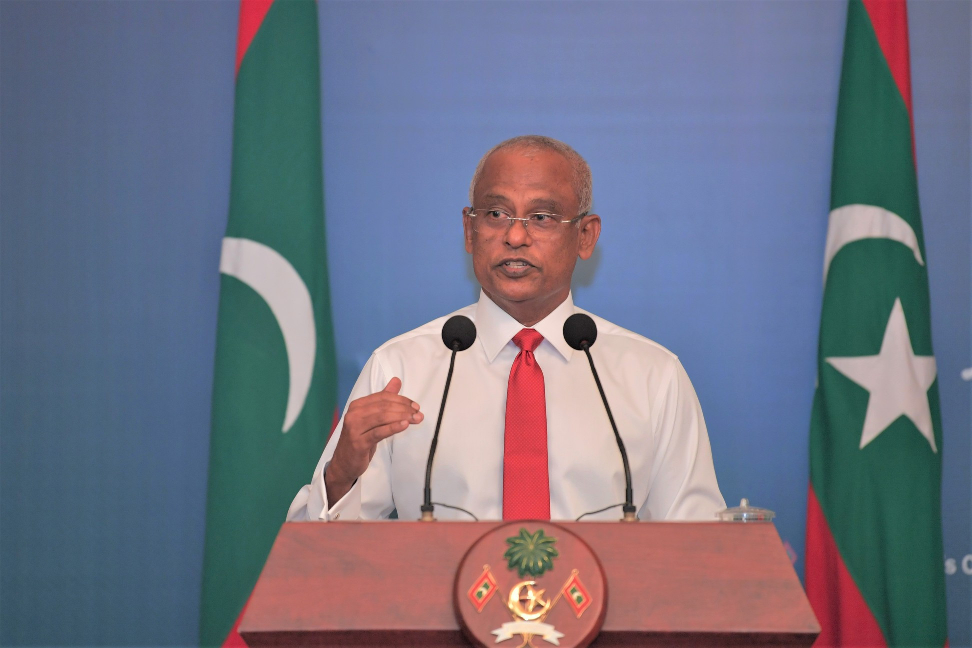 COVID19- Maldives' Status by the President