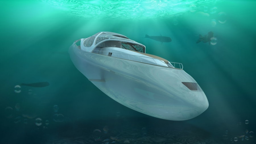 The Yacht that Turns into a Submarine