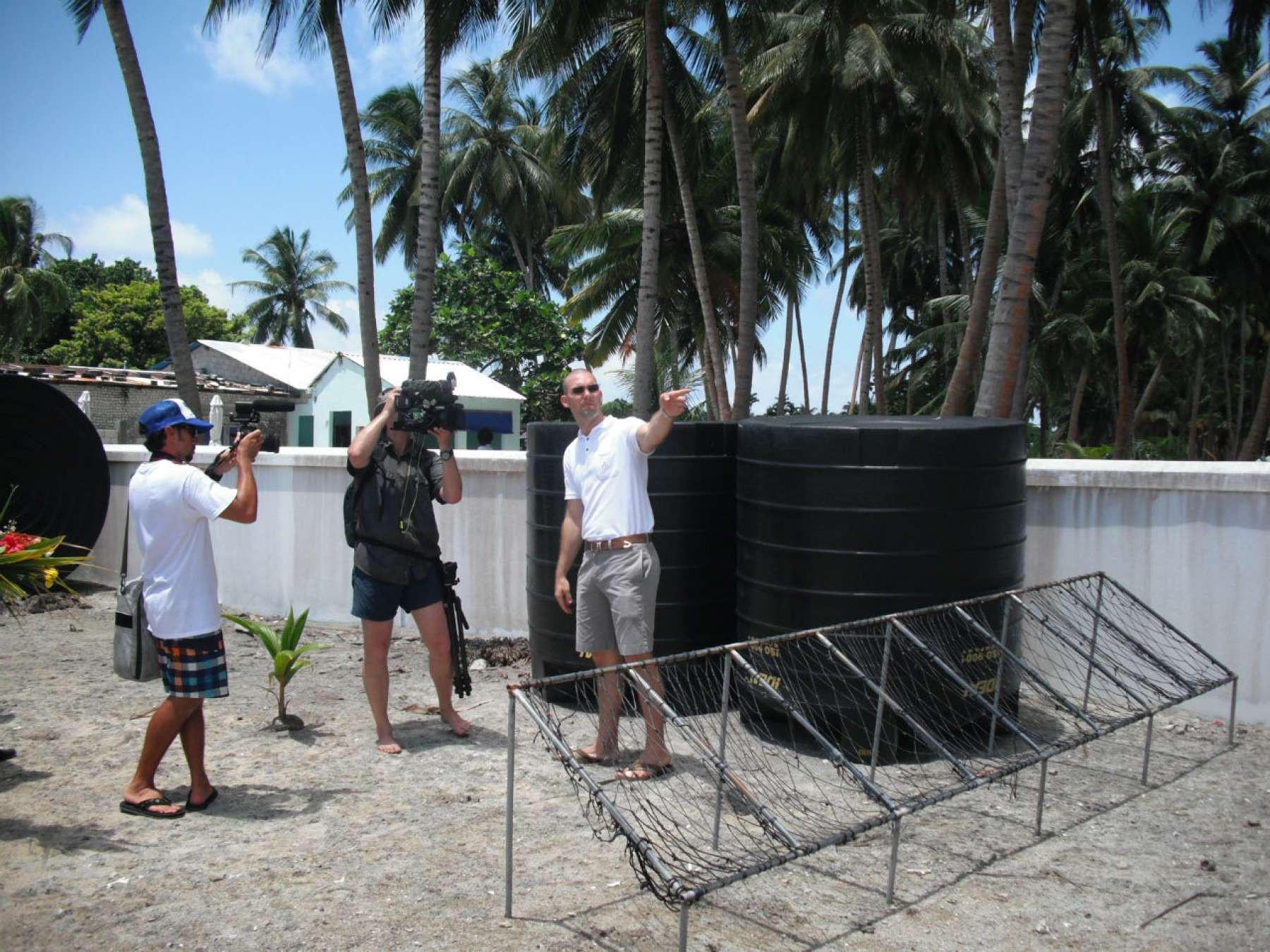 Solving Water Shortage in Maldives Islands