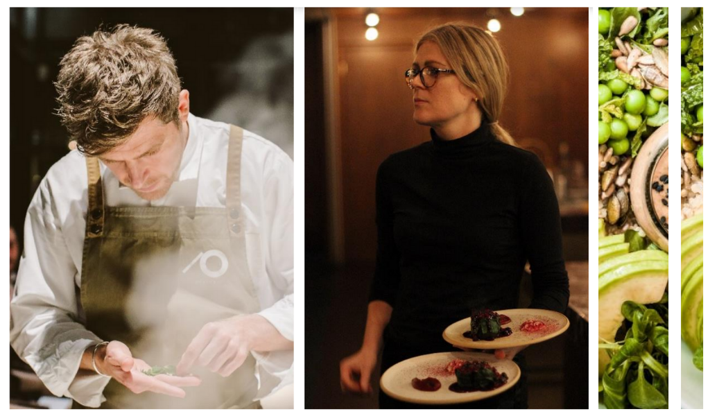 Top Plant-Based Chefs Kirk and Keeley Haworth enroute to Amilla Maldives!