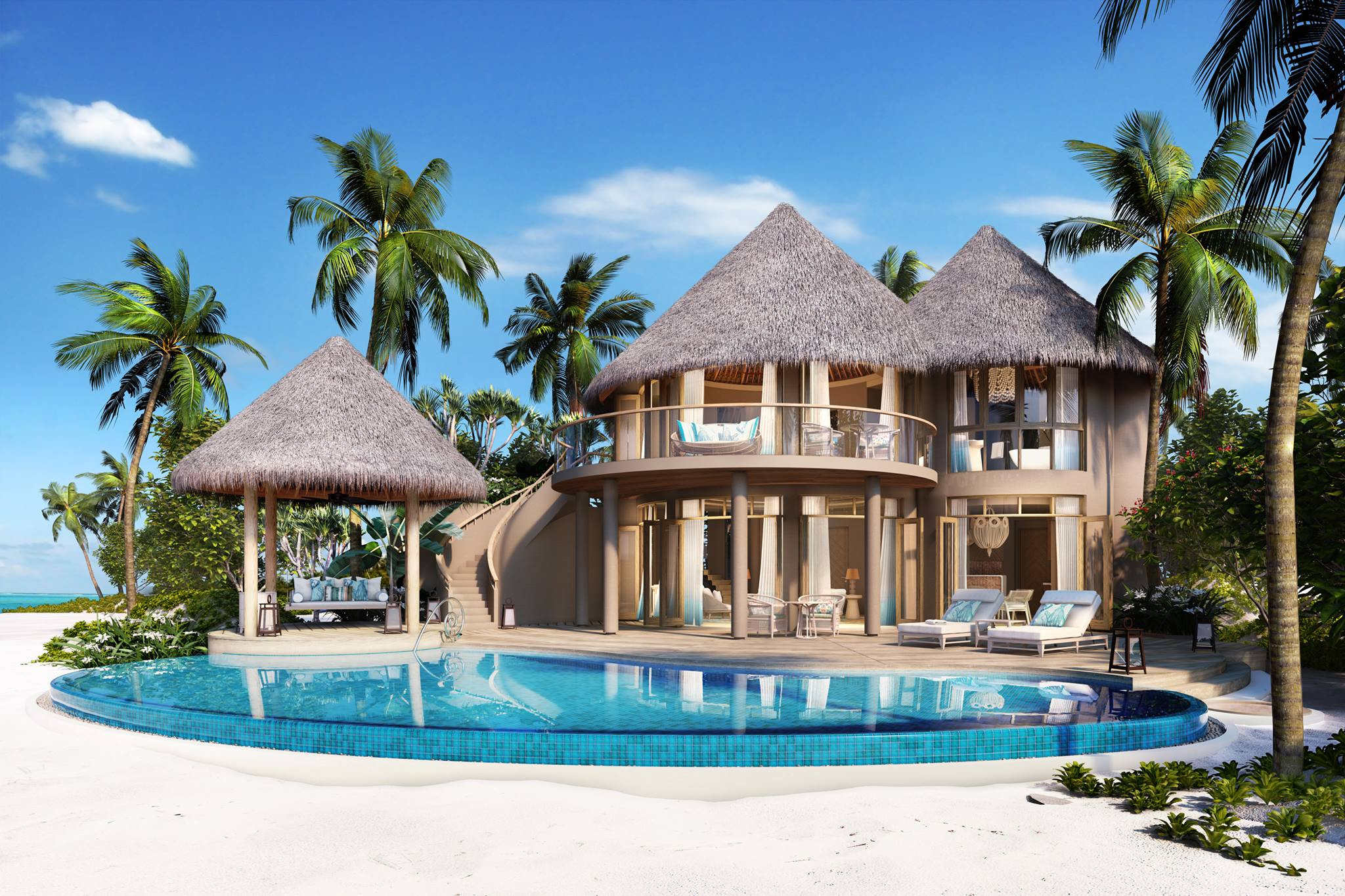 3 Resorts crowned World's Best Luxury Hotels