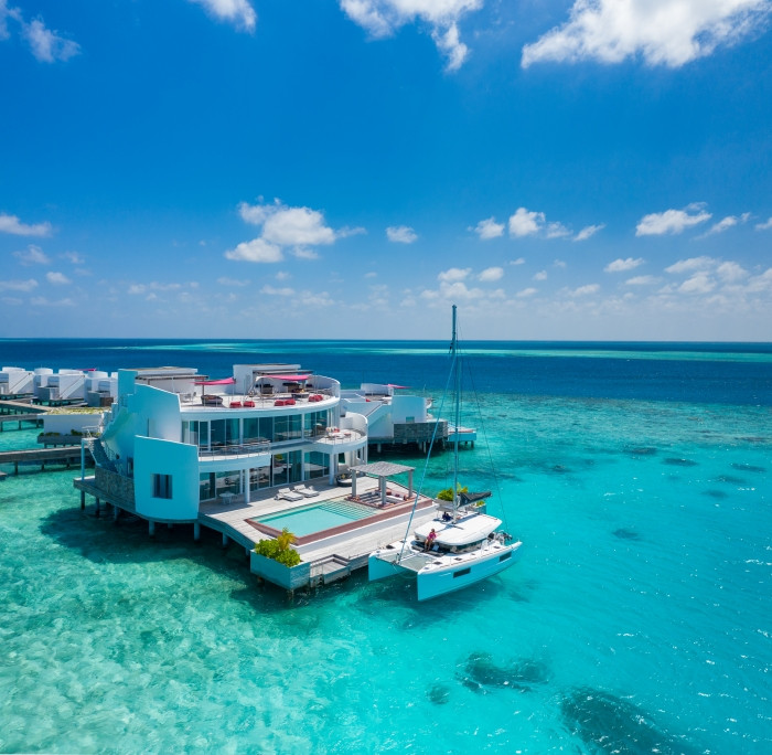 LUX* North Male Atoll Unveils Catamaran