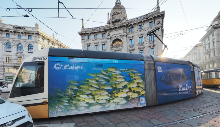 Maldives Promotion Campaign in Italy