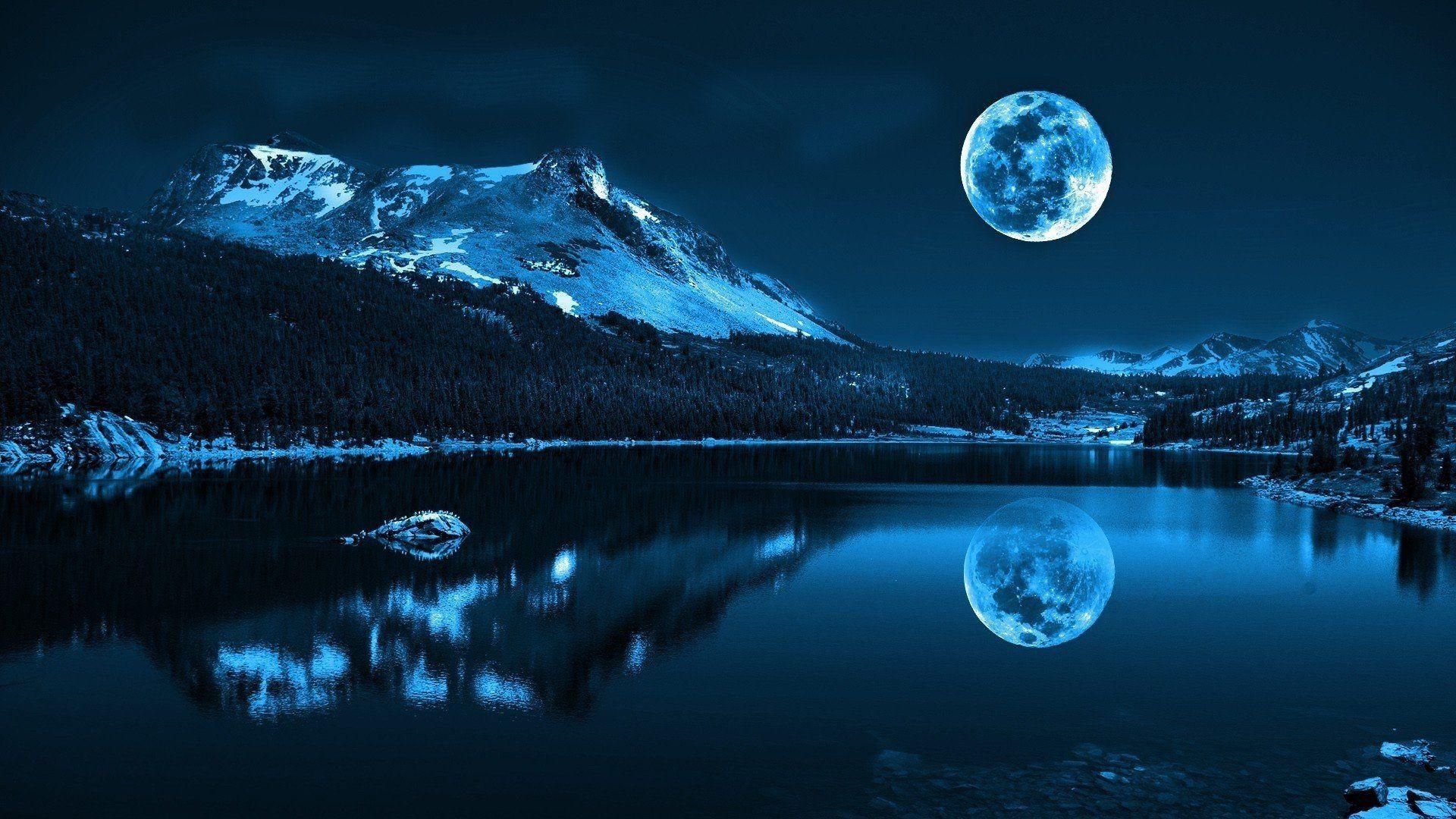 A Sky Treat- 2 Supermoons & a Blue Moon