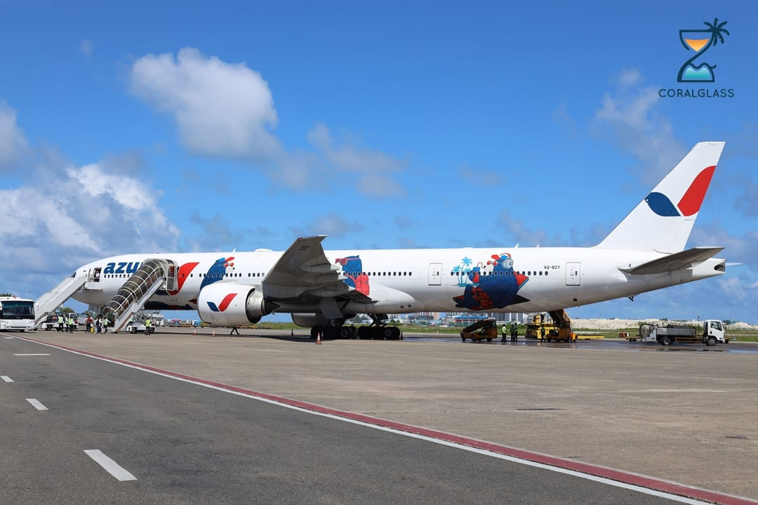 Russia's Biggest Air Charter launches in Maldives