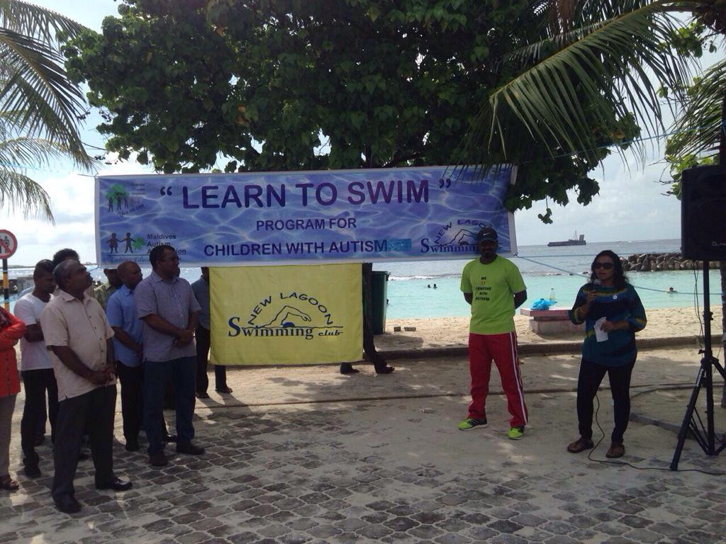 Swimming Club for Children with Autism in Maldives