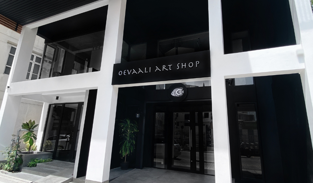 It's Getting Bigger and Better at Oevaali Art Shop's New Address in Malé