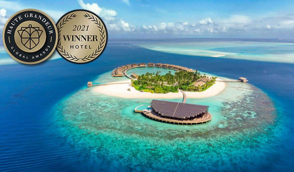 Kudadoo Crowned Best New Hotel in the Indian Ocean at the 2021 Global Haute Grandeur Awards