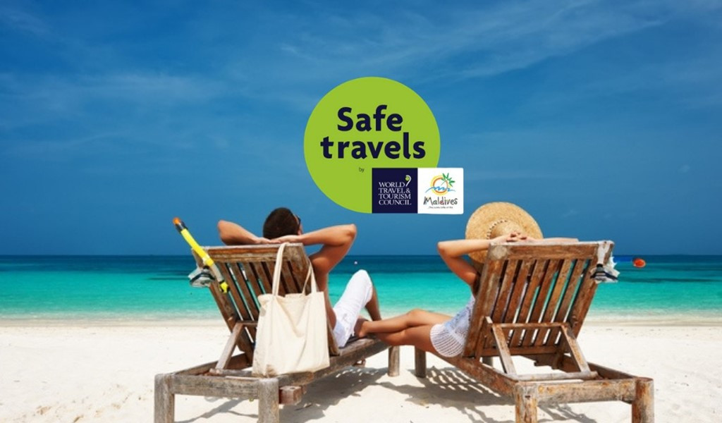 Maldives Officially Declared a Safe Haven, Receives WTTC Safe Travels Stamp