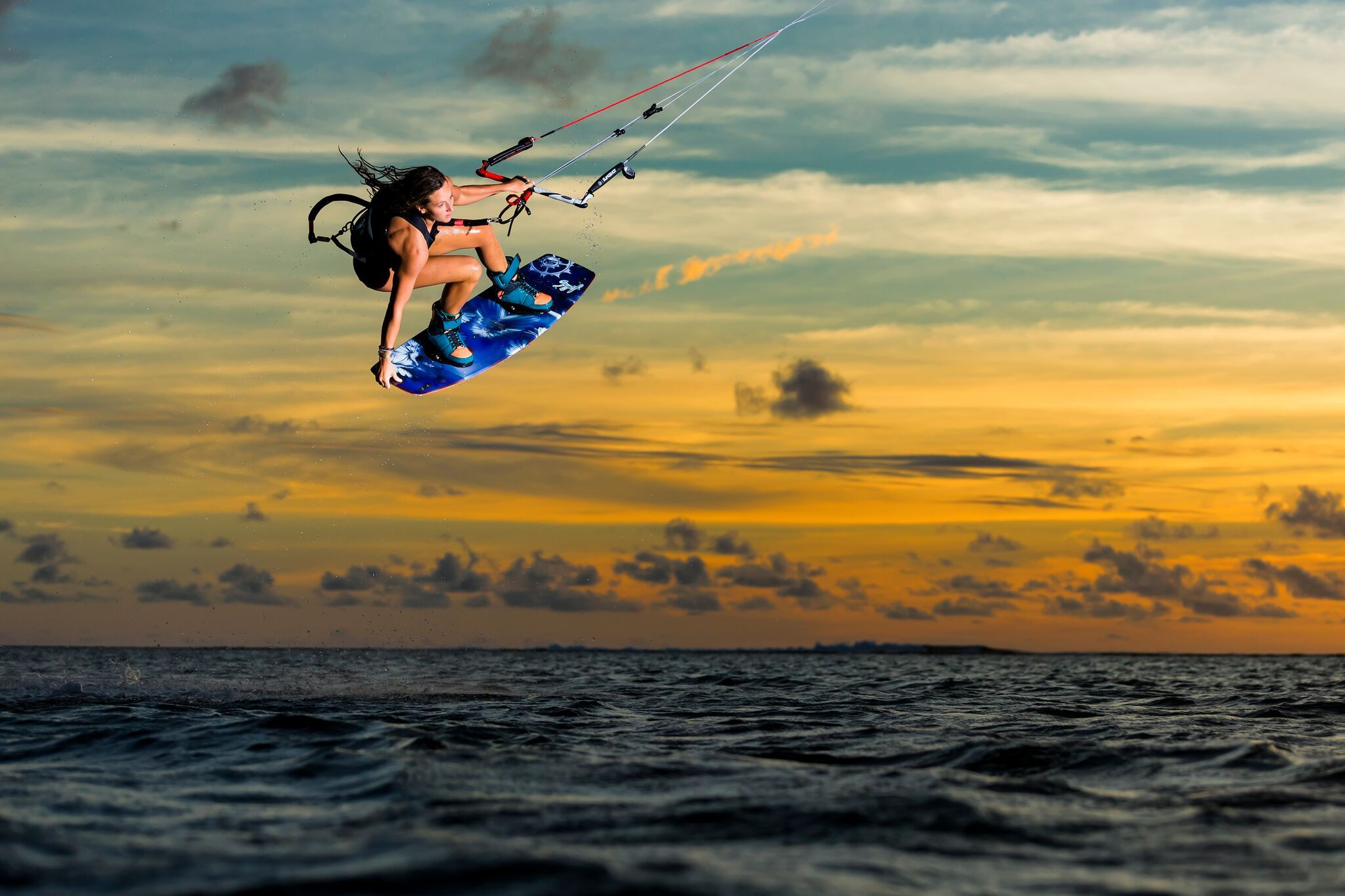 World Champion comes to Kite-Surfing Camp Maldives