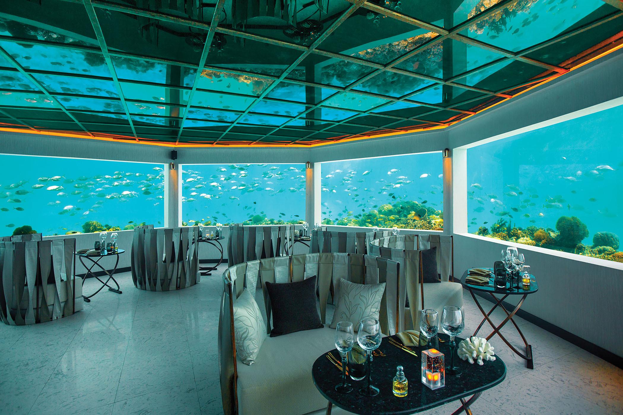 Top Underwater Restaurants in Maldives