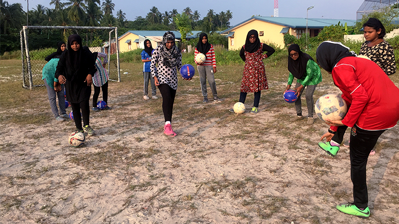 Football to Solve Gender Inequality in Maldives