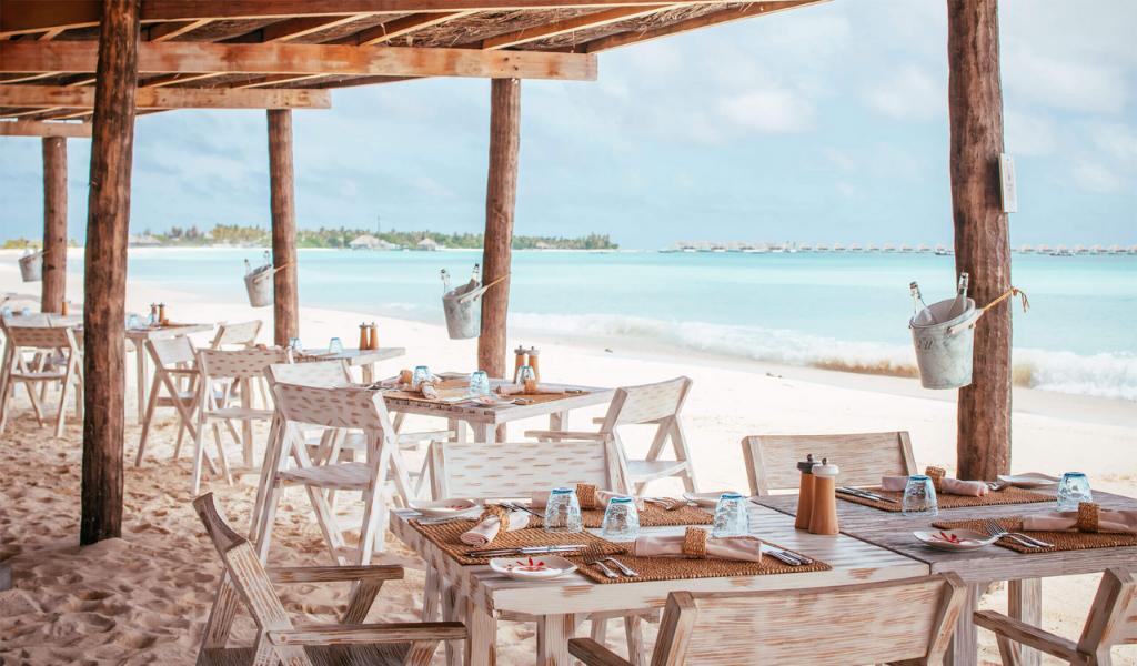 Nothing Says Luxury Beachside Dining Like Crab Shack at Seaside Finolhu