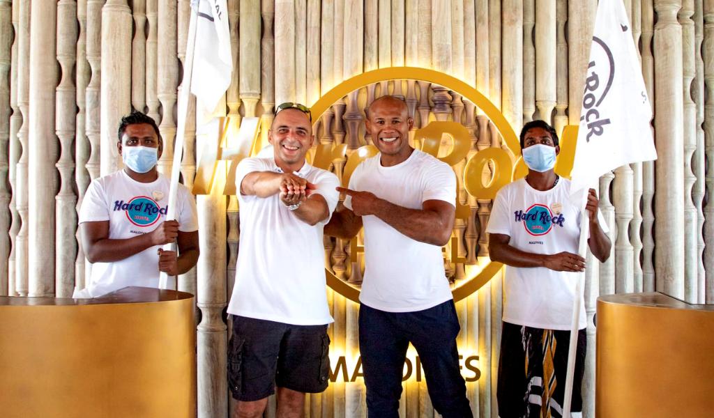 "Brazilian jiu-jitsu legend and longtime elite MMA fighter Ronaldo ""Jacare"" Souza visits Maldives"