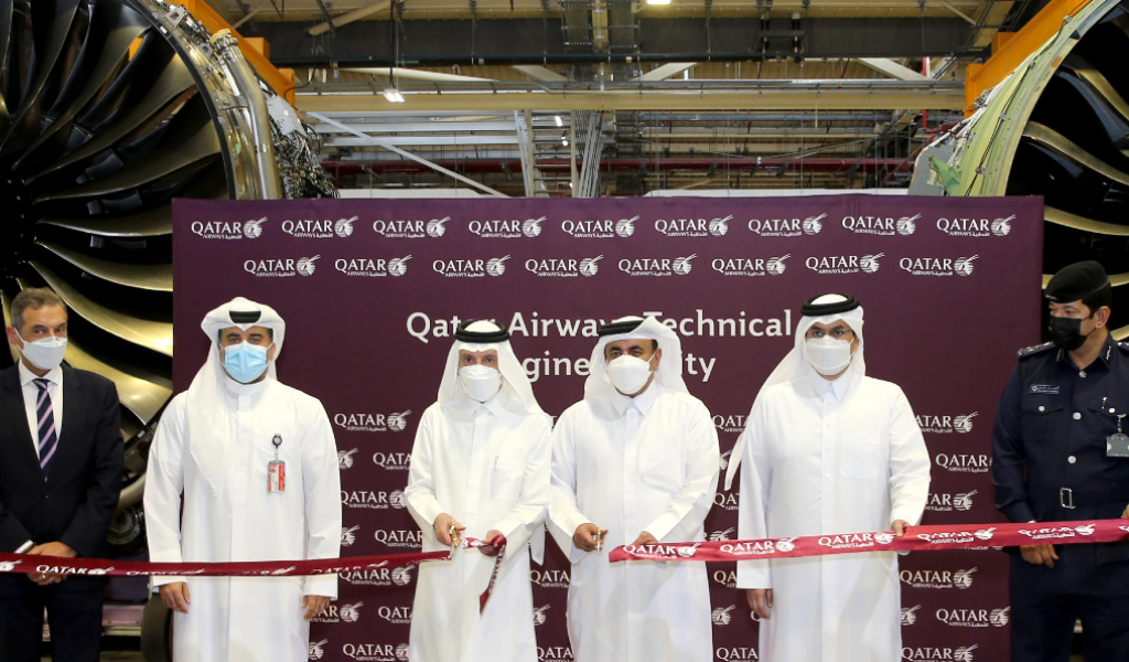 Qatar Airways' New State-of-the-Art Engine Facility to Streamline Technical Operations
