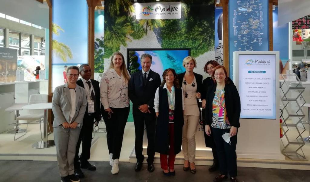 Maldives Participates in Italy's Key B2B Show – TTG Travel Experience