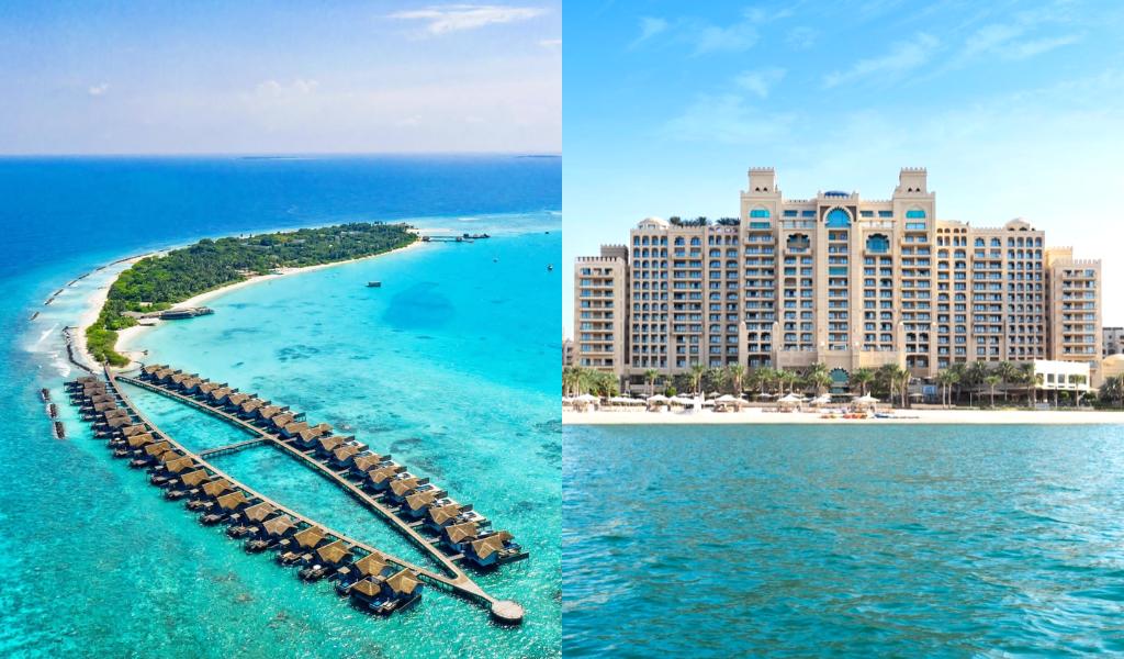 Unparalleled Beaches of Maldives or Sand Dunes of Dubai? You Choose!