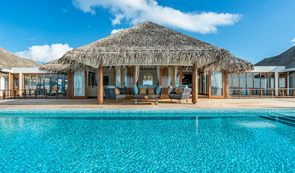 Inside the Largest Private Pool Residences in The World at Anantara Kihavah Maldives Villas