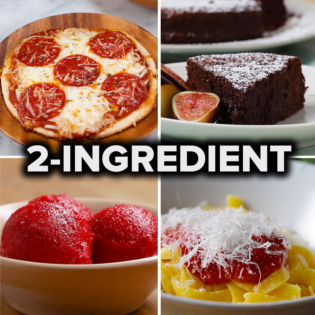 5 Easy Recipes with Only 2 Ingredients