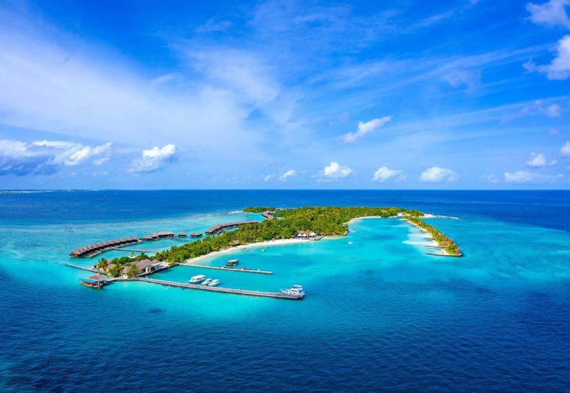 The Desert Island Paradise in Maldives