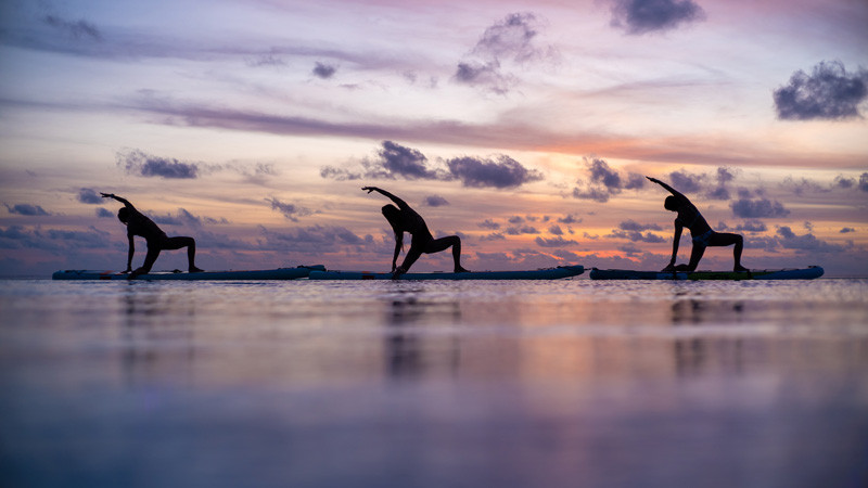 First Floating Yoga Studio in the Maldives