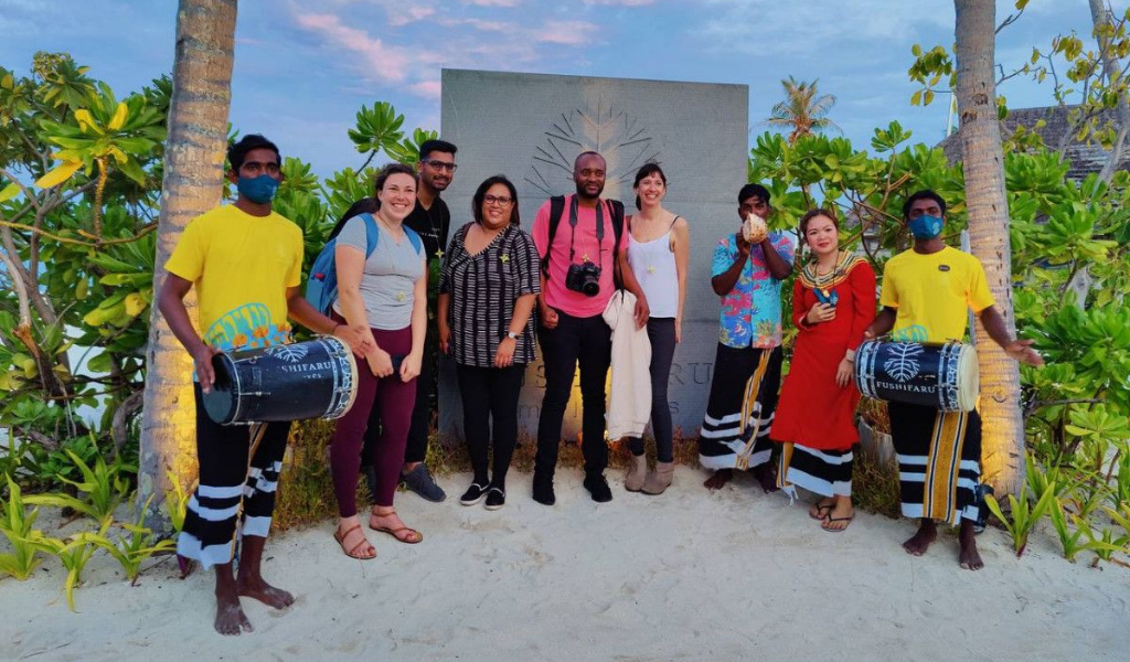 Media Team from Popular South African Publications Make It To The Maldives!